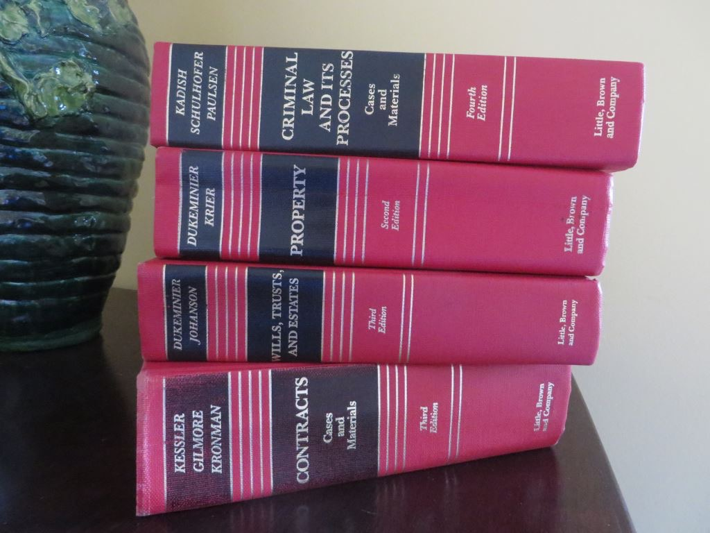 Law books covering property law